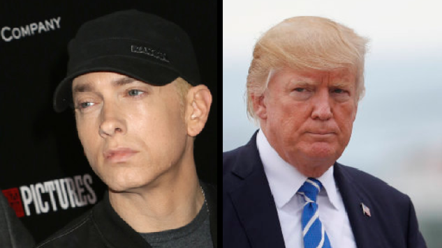 Eminem Is 'Extremely Angry' Donald Trump Hasn't Responded To His BET Awards Freestyle Rap