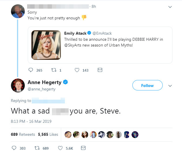 Anne Hegerty put Steve in his place. Credit: Twitter
