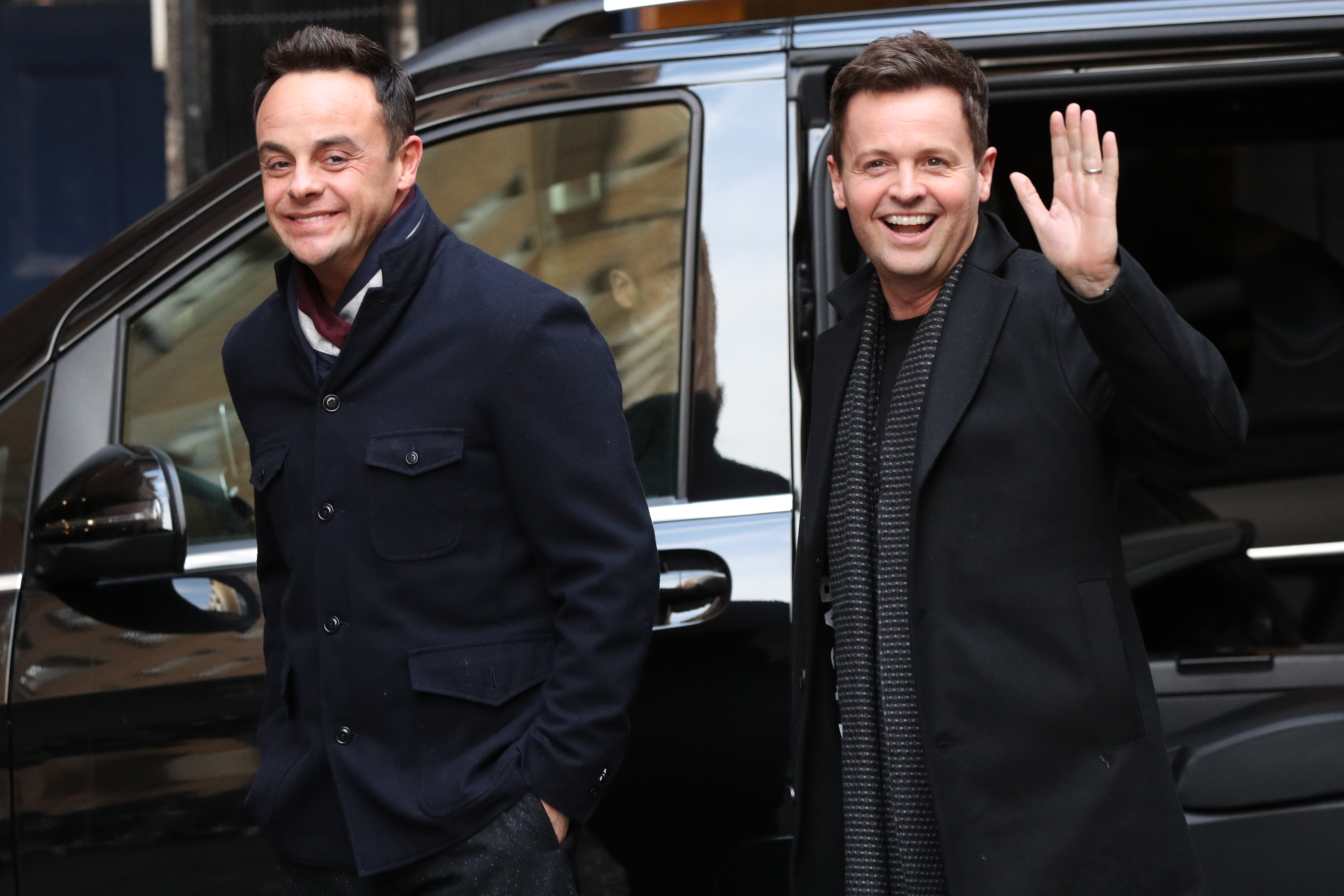Ant McPartlin and Declan Donnelly. Credit: PA