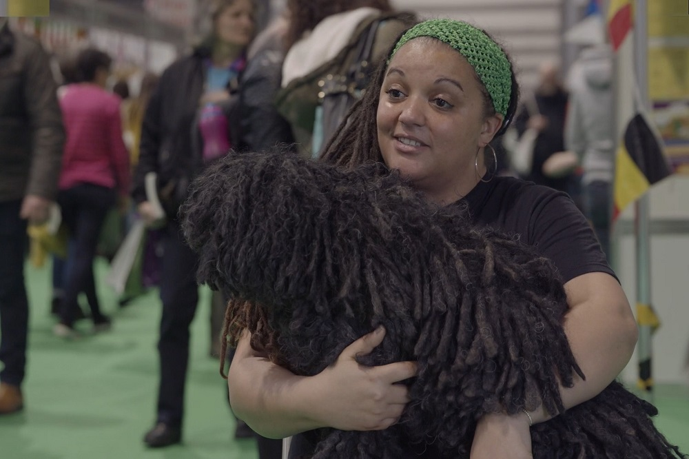 The pair are at Crufts this year. Credit: Kennedy News and Media