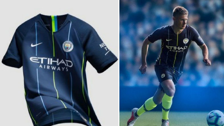 Man City's Jaw-Dropping Third Kit 'Draws From Key Moment In The Club's History'