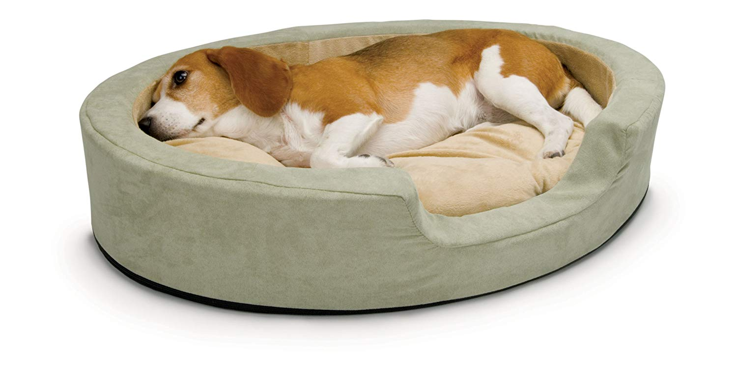 You can keep your pets extra cosy with a heated bed. (Credit: K&H Pet Products)