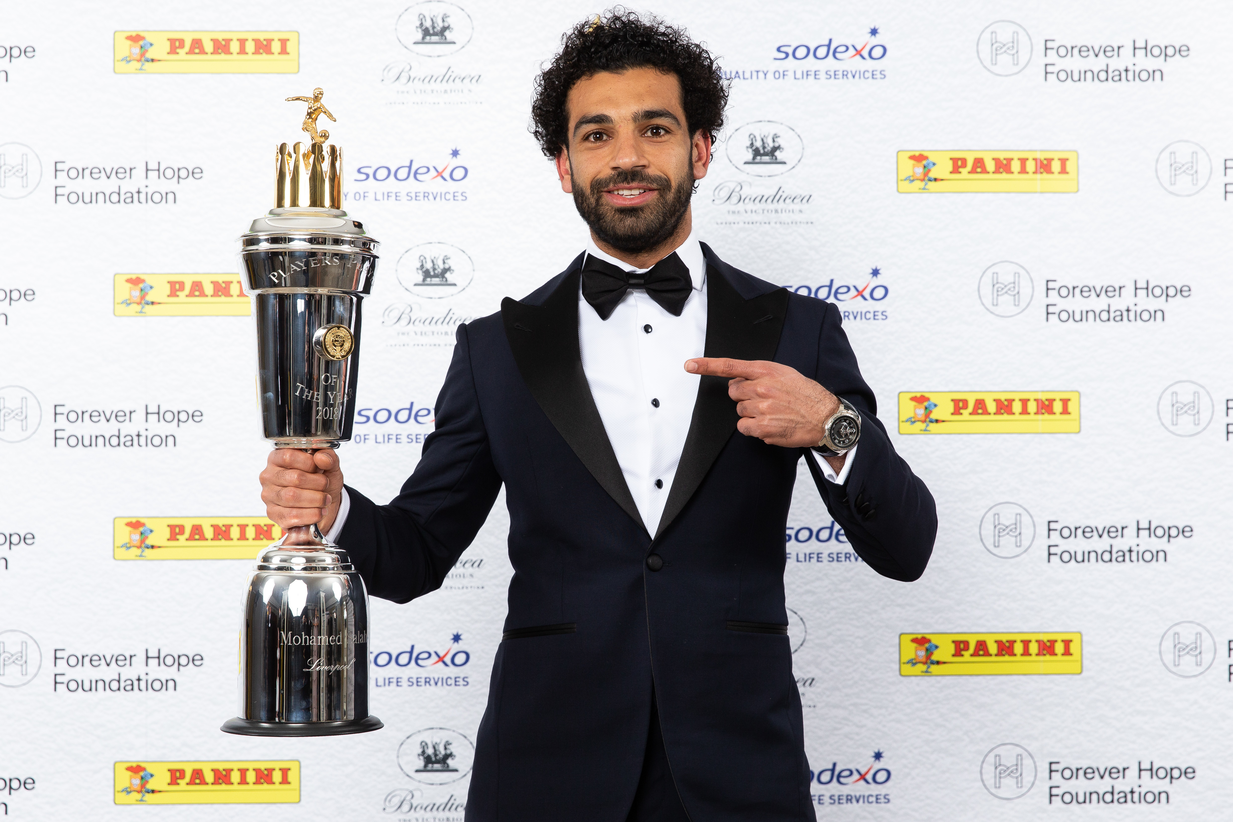 Salah won last season's Player of the Year award. Image: PA Images