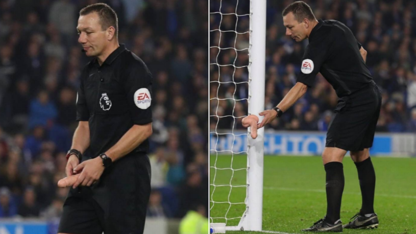 Referee Kevin Friend Stops Play To Remove Dildo From The Field Of Play