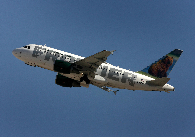 这一事件发生在边境航空公司一架飞机。信贷:爸爸