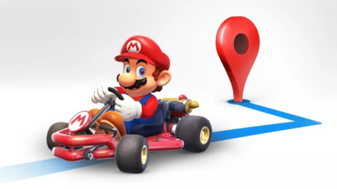 Mario Is Here To Show You The Way On Google Maps