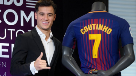 Philippe Coutinho Is Set To Be Barcelona's New No.7, And Fans Love It