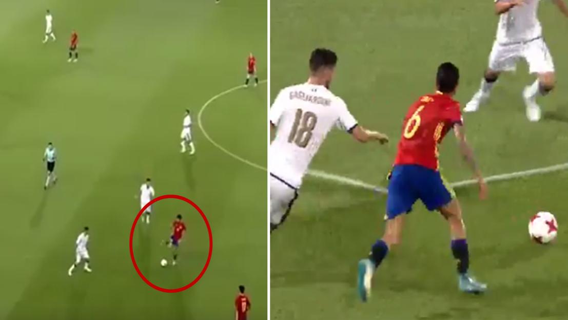 WATCH: Dani Ceballos Produced Incredible Solo Run vs Italy U21's Last Night