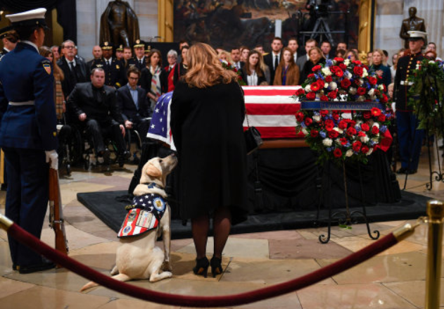 Final Eulogies Set for Former US President George HW Bush