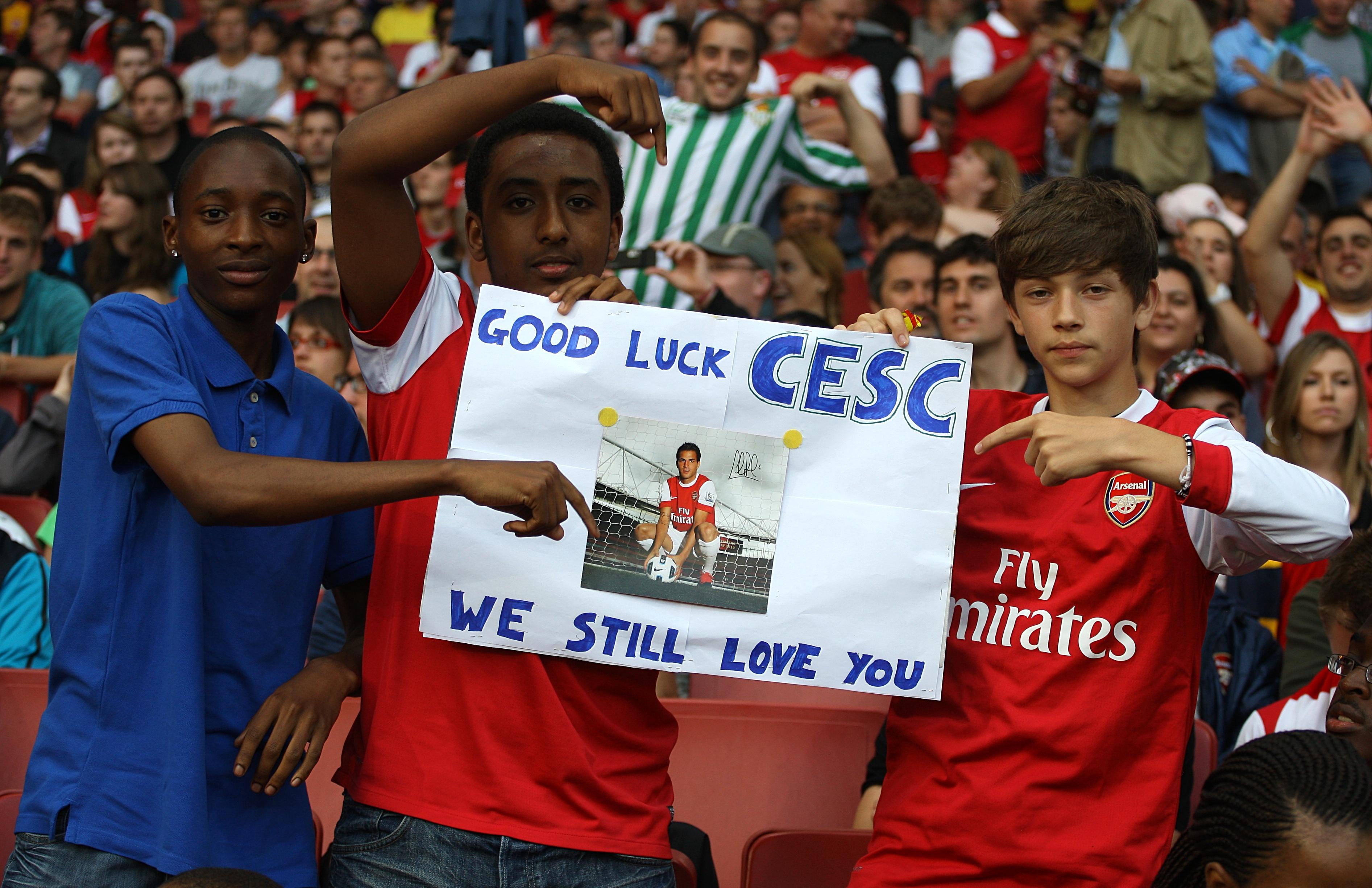 Cesc Fabregas: 'Arsenal will always be in my heart'