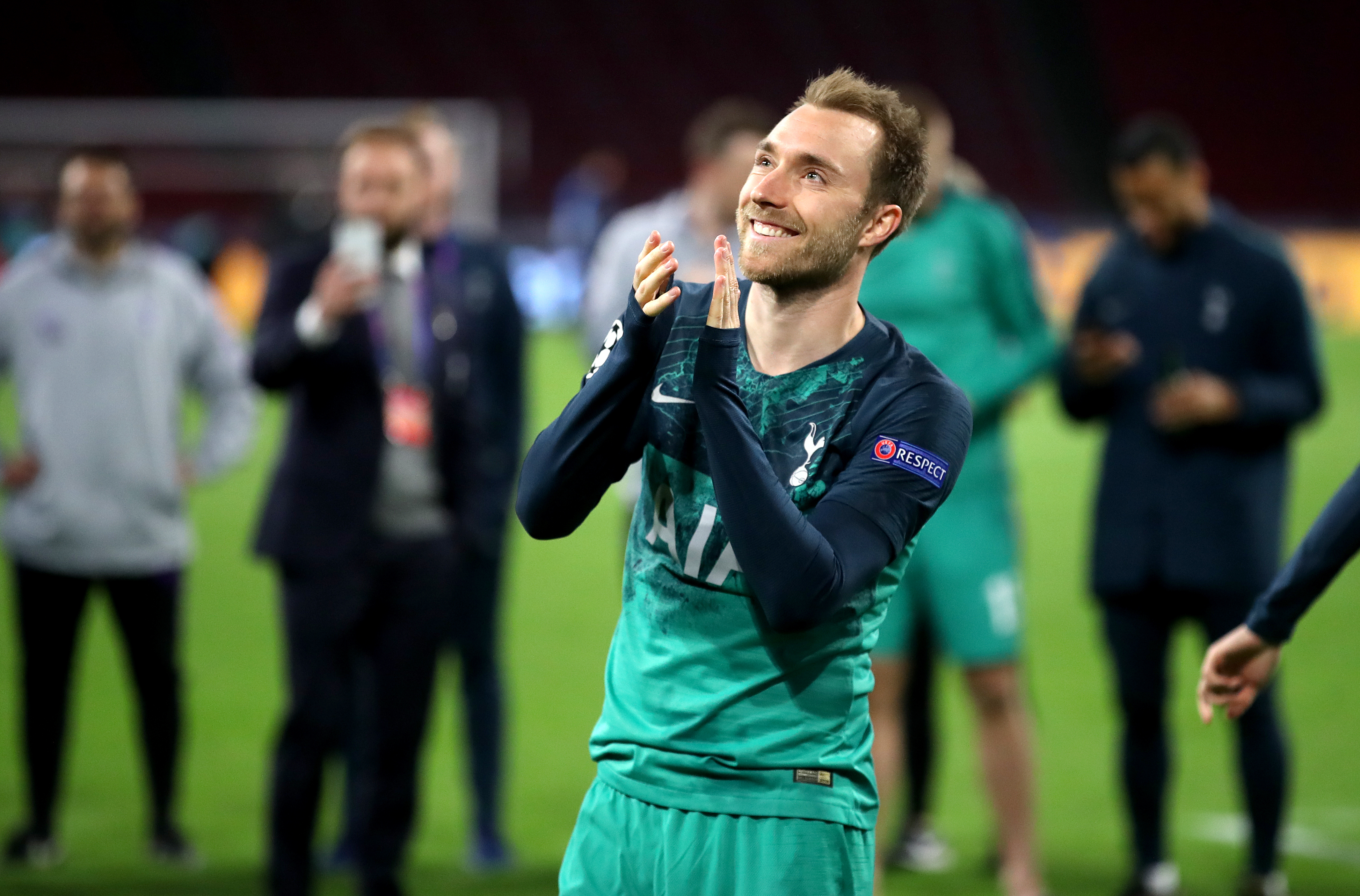 Eriksen revealed he wants to leave Spurs. Image: PA Images