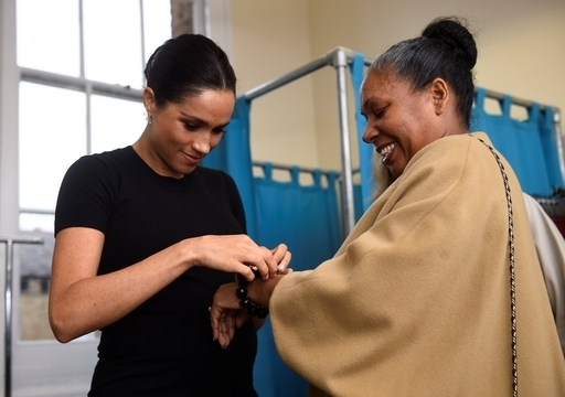 The charity helps women to get themselves job interviews and succeed. (Credit: PA)