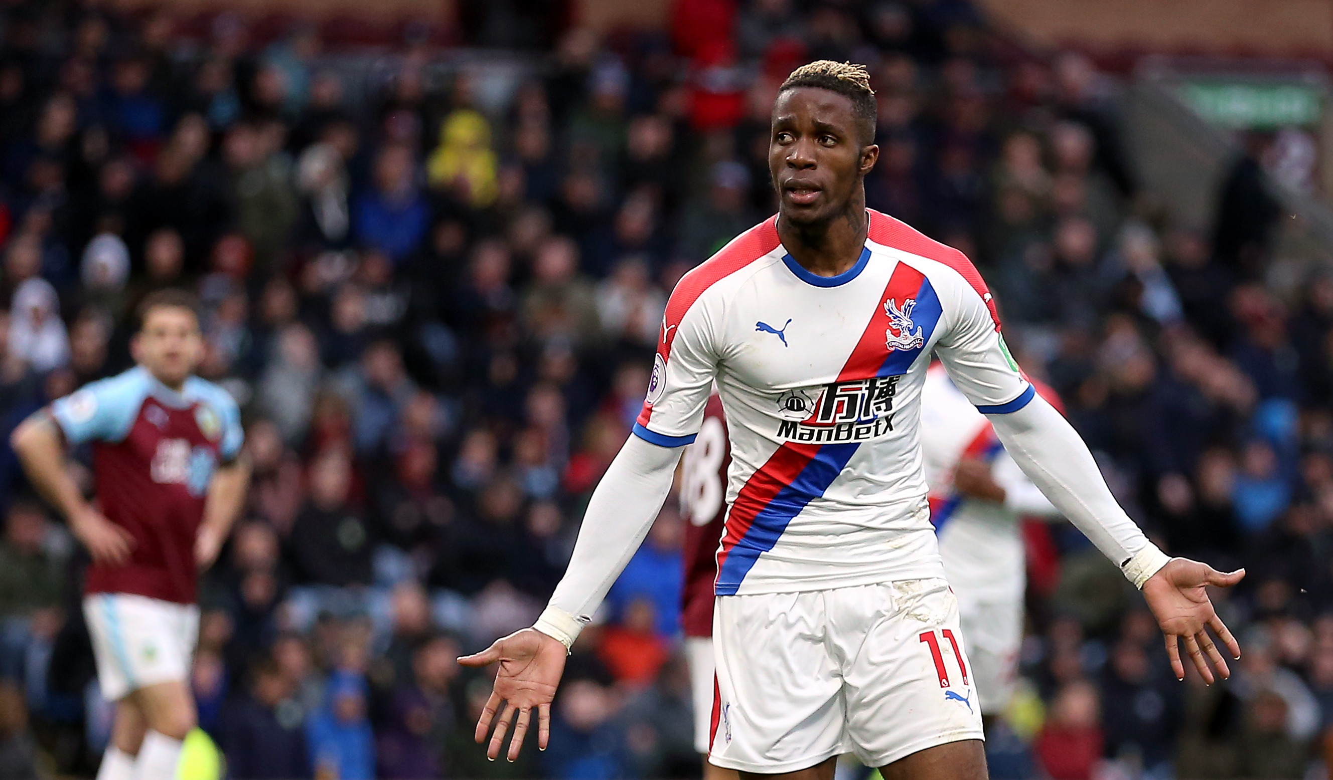 Palace have no intention of selling 'happy' Zaha, says Hodgson
