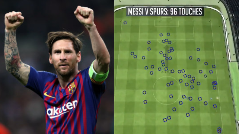 Lionel Messi's Individual Highlights Against Spurs Prove He's The Best Ever