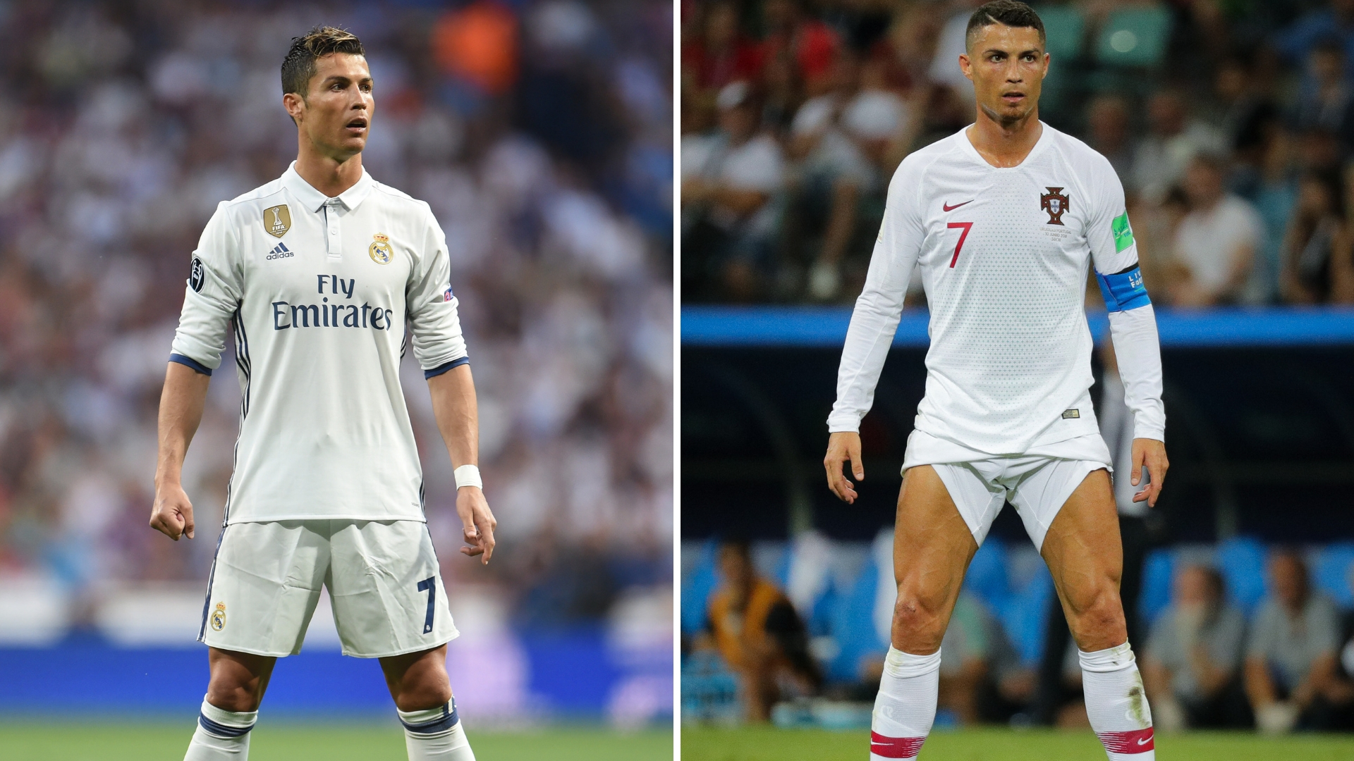 Why Cristiano Ronaldo Does His Trademark Stance Before He Takes Free