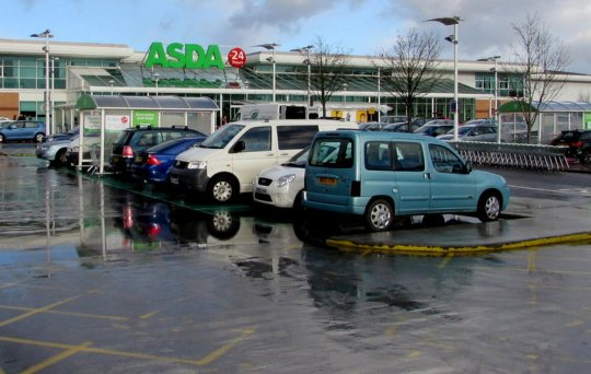 The Asda supermarket in Cwmbran. Credit: Athena Picture Agency