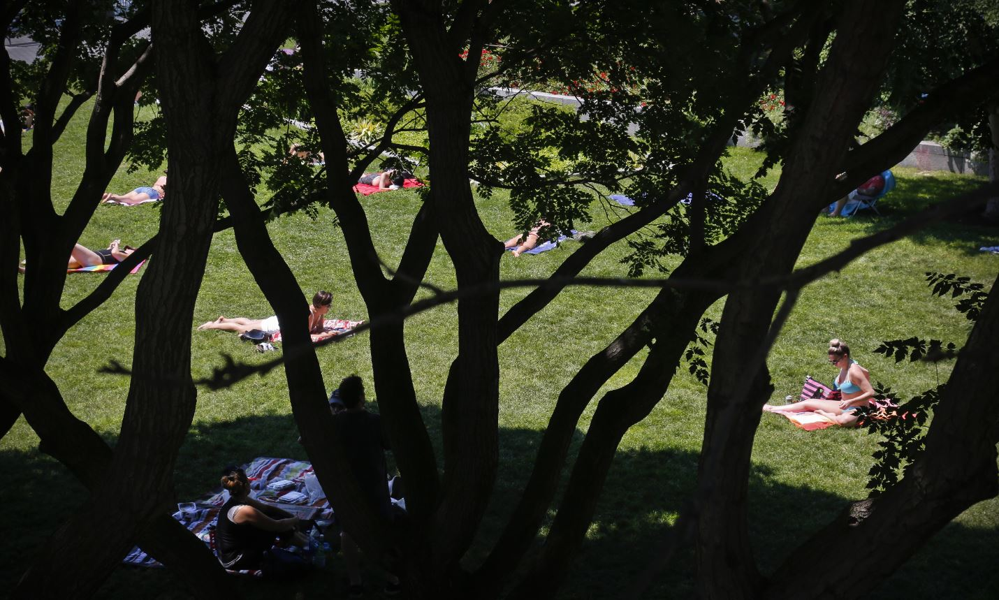 Heat wave approaches DC area as cooler weather flees region