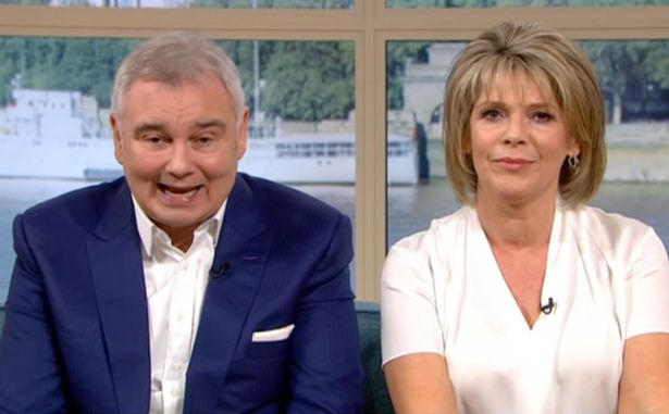 Ruth Langsford and Eamonn Holmes will host the Sunday episode. (Credit: ITV)
