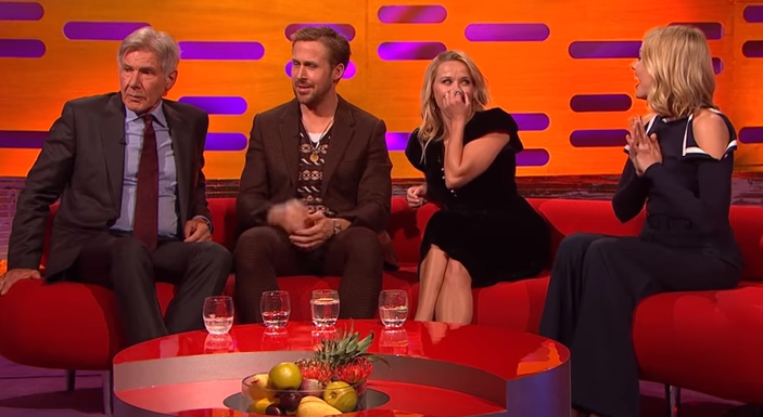 Harrison Ford can't remember Ryan Gosling's name