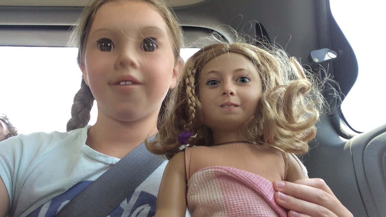 That's one freaky doll face swap...
