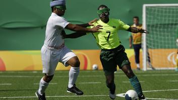 blind football brasil goal