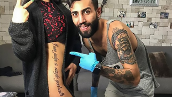 8a398e40e Instagram Model Becomes Laughing Stock With Badly Translated Tattoo
