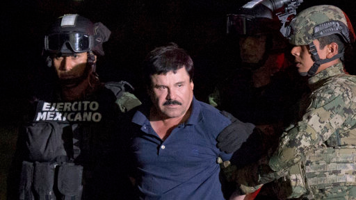 El Chapo Promises He Won't Have Jurors Swimming With The Fishes