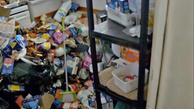 Sally-Ann's kitchen. Credit: Channel 5