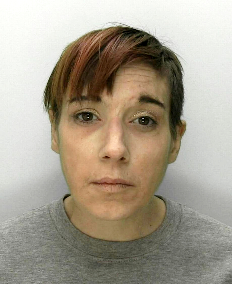 Davies suffered 'horrific' sores after injecting herself with the lethal street drug, krokodil. Credit: SWNS