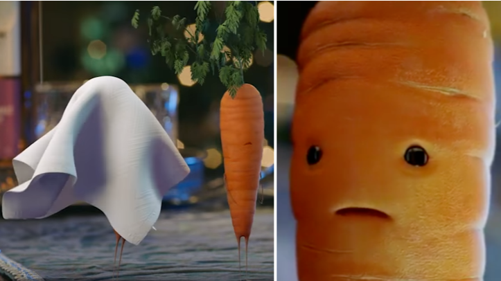 kevin the carrot ad banned after just one complaint. Black Bedroom Furniture Sets. Home Design Ideas
