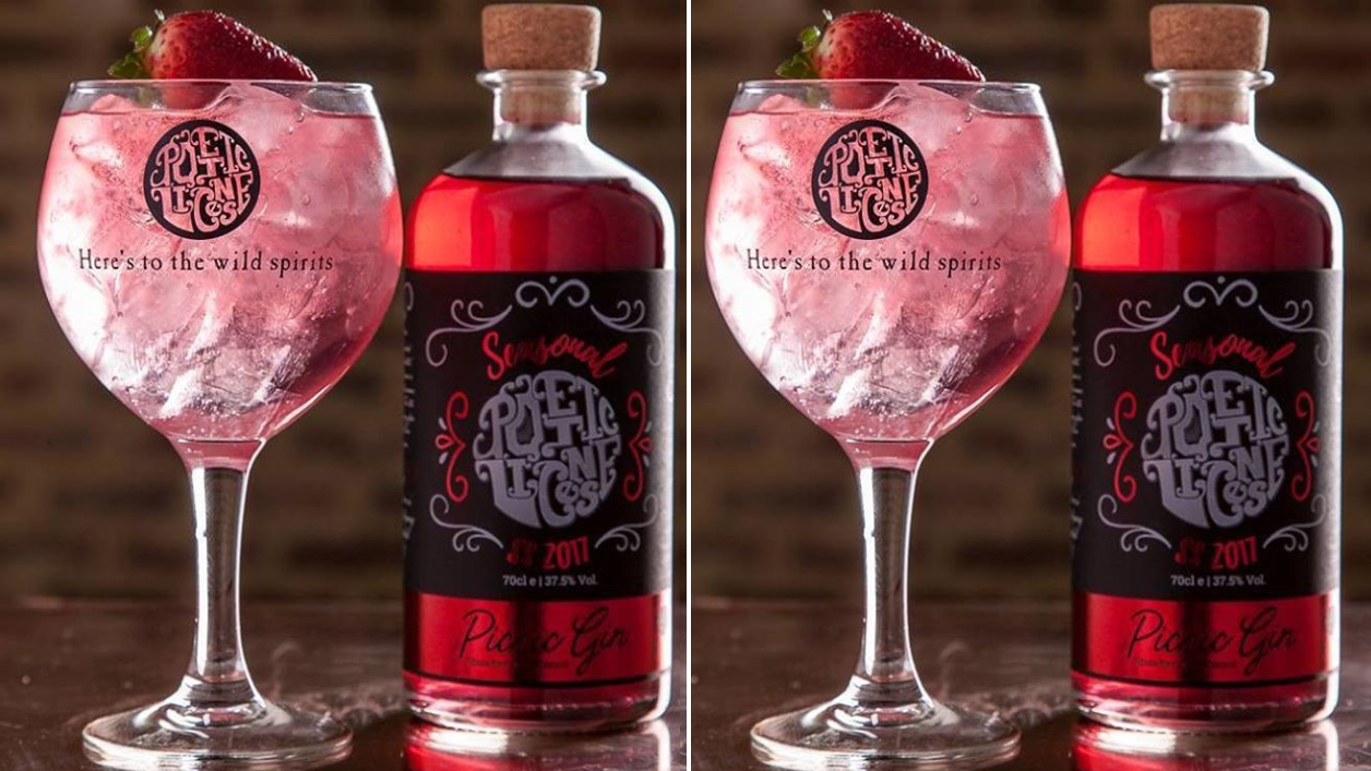 Sweeten Up Your Weekend With This Strawberries And Cream Gin