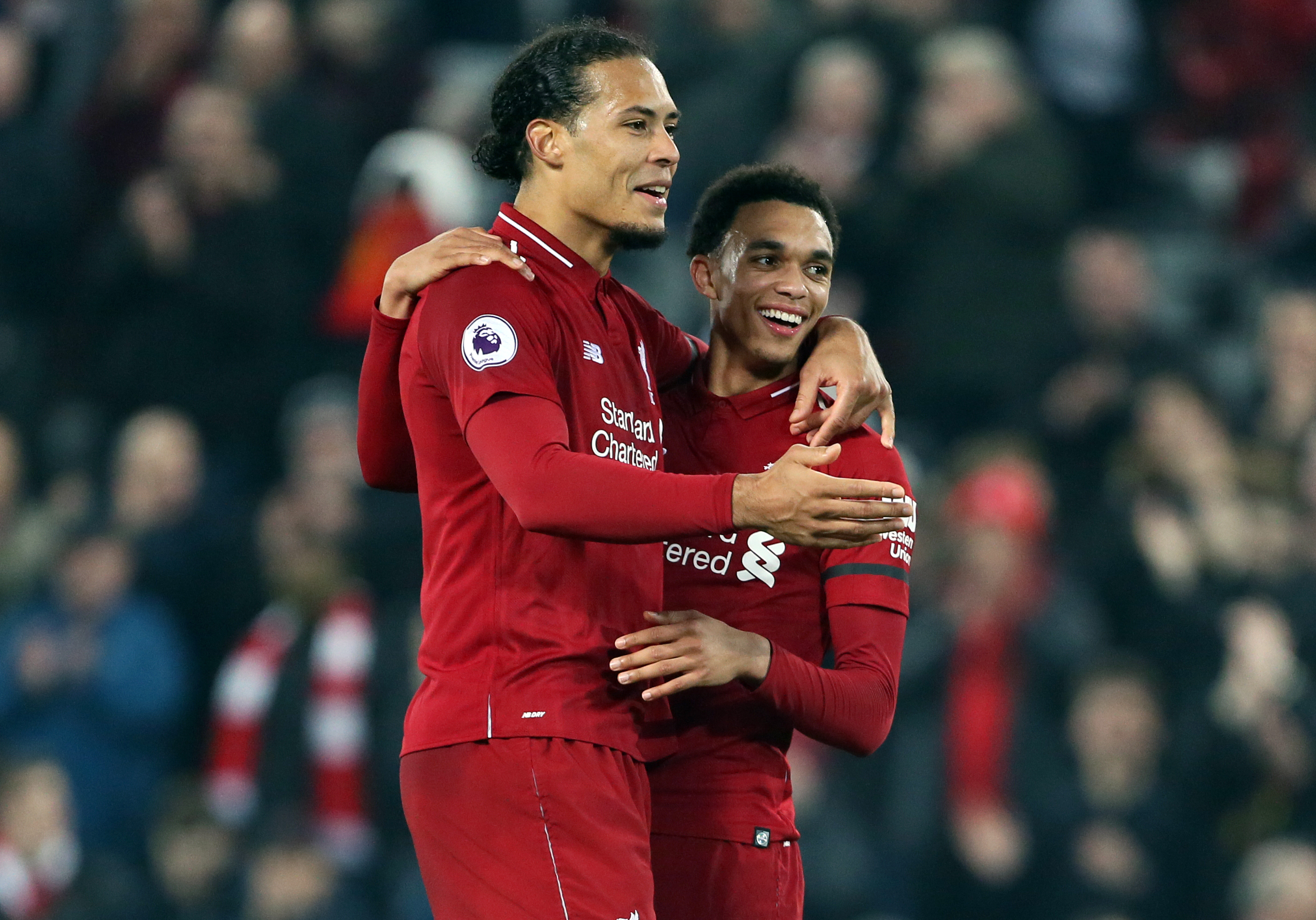 Van Dijk's move has been a relative steal for Liverpool. Image: PA Images