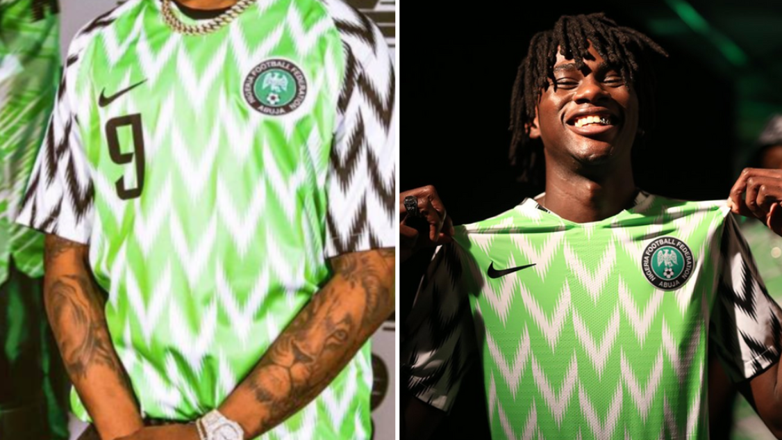 Nigeria Home Shirt Sells Out On Nike Shop 8edb92fcb