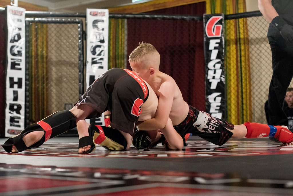 Alfie started out with kickboxing at the age of four. Credit: Caters