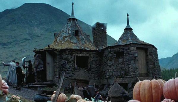 Hagrid's cottage in the films. Credit: Warner Bros