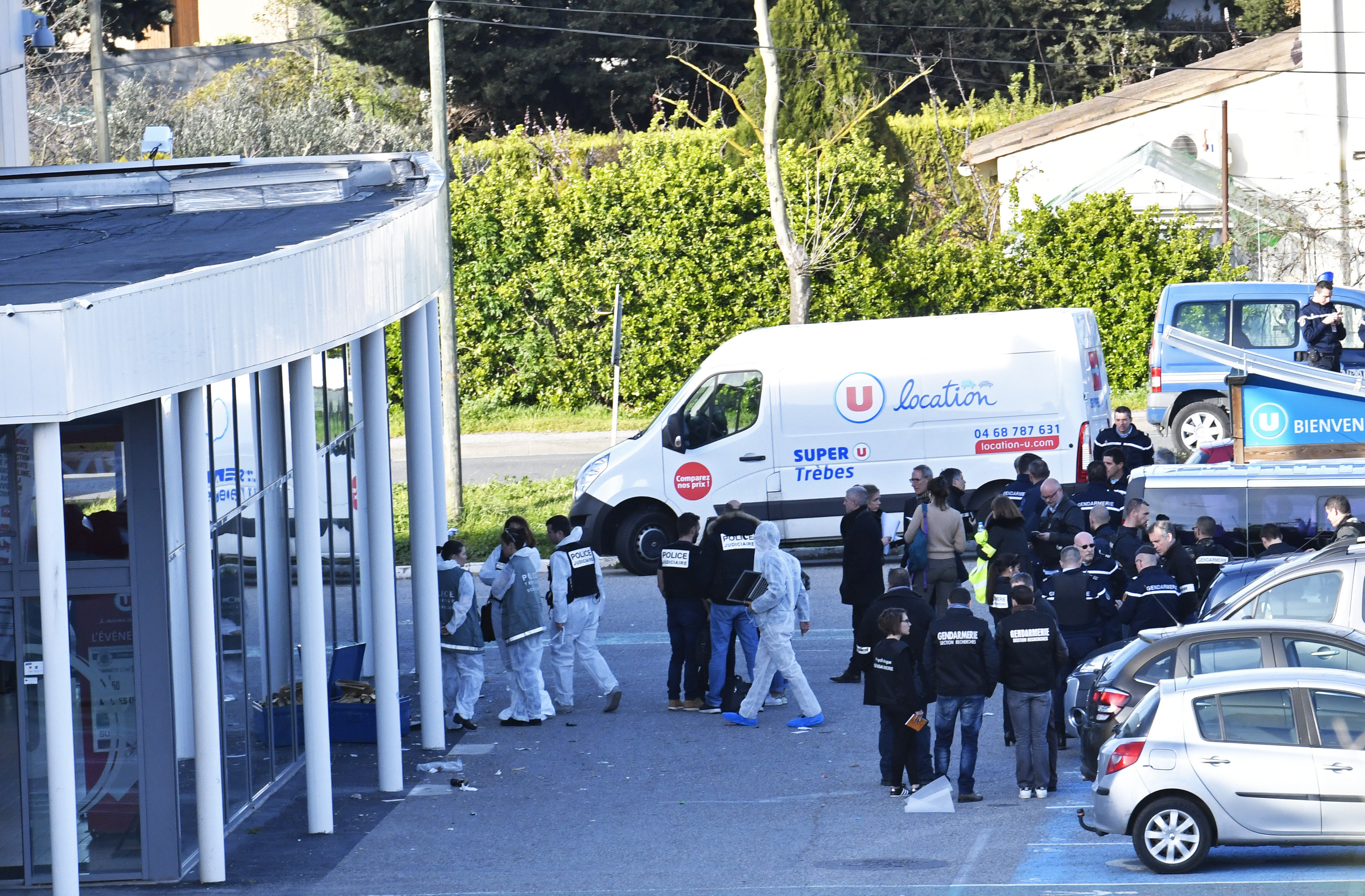 French police officer who took place of hostage dies of gunshot wounds