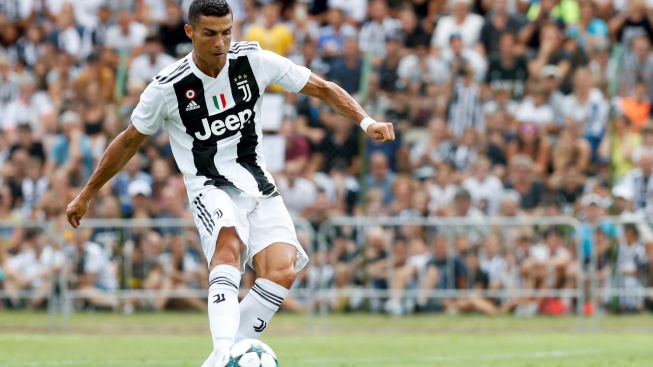 Image result for Ronaldo scores first goals for Juventus