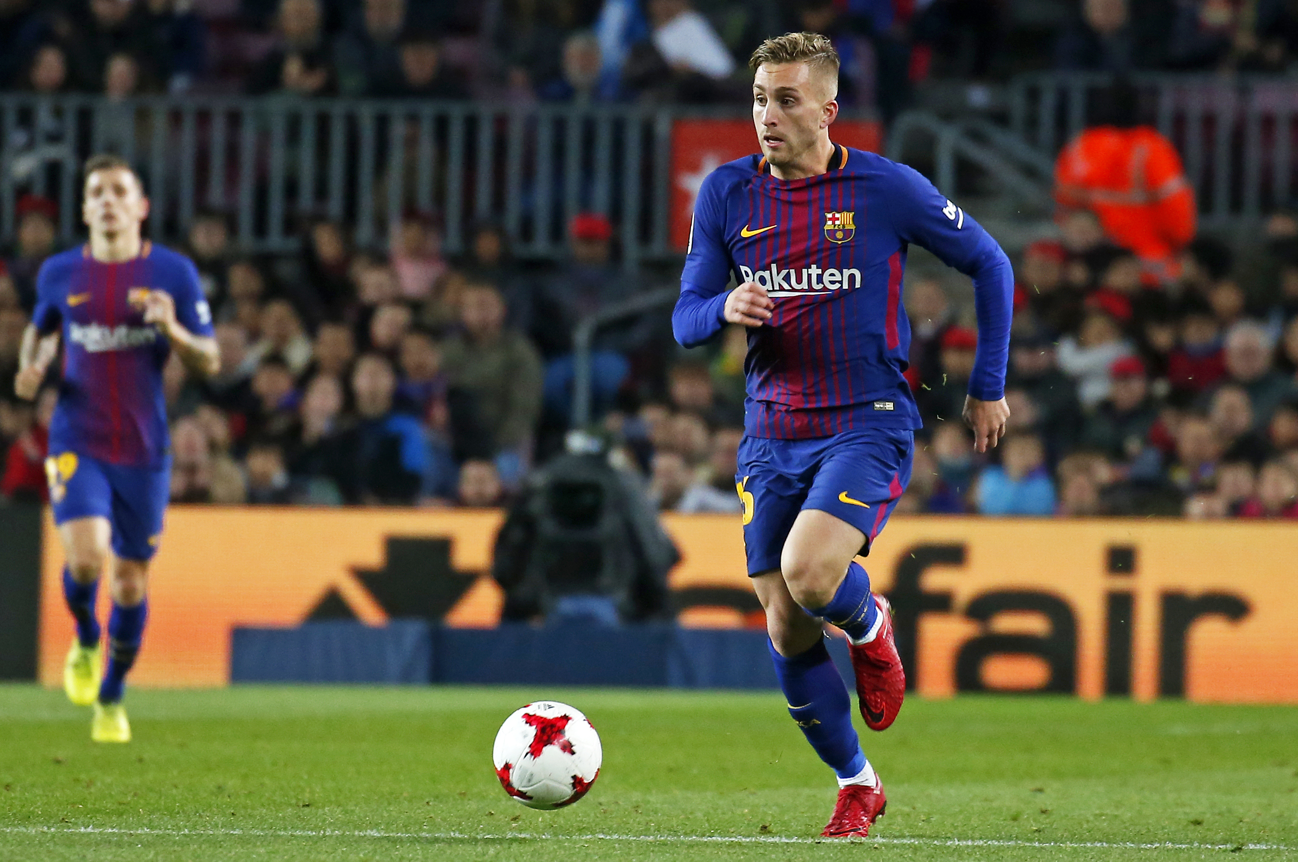 Barcelona send Gerard Deulofeu to Watford on loan