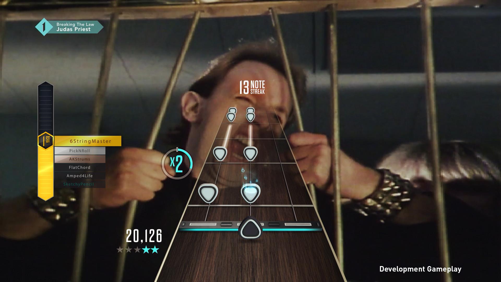 Guitar Hero Live Gameplay