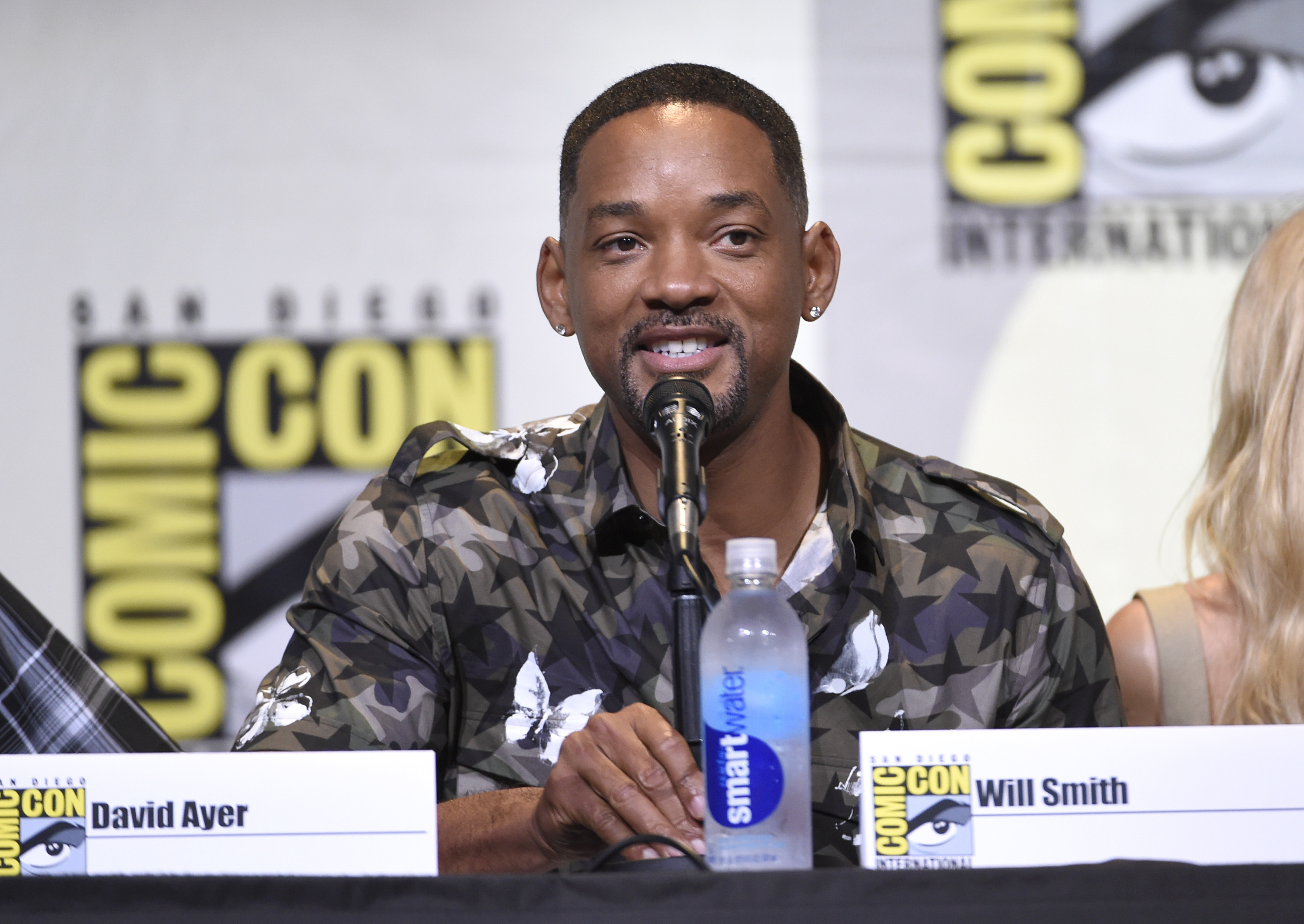 WATCH: Will Smith Performs 'Miami' For The First Time In Ages At 'Suicide Squad' Party