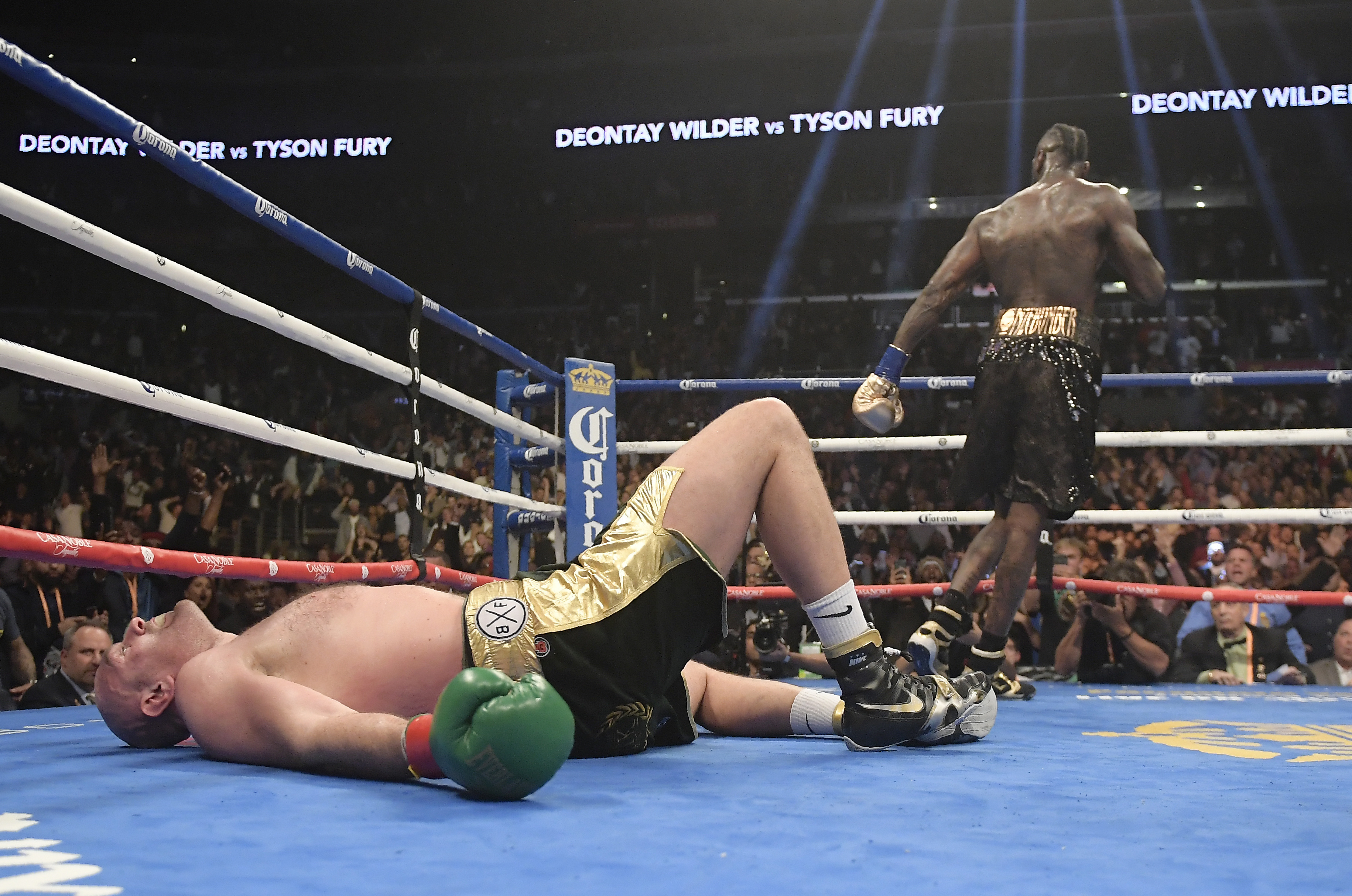 Fury looked down and out. Image: PA Images