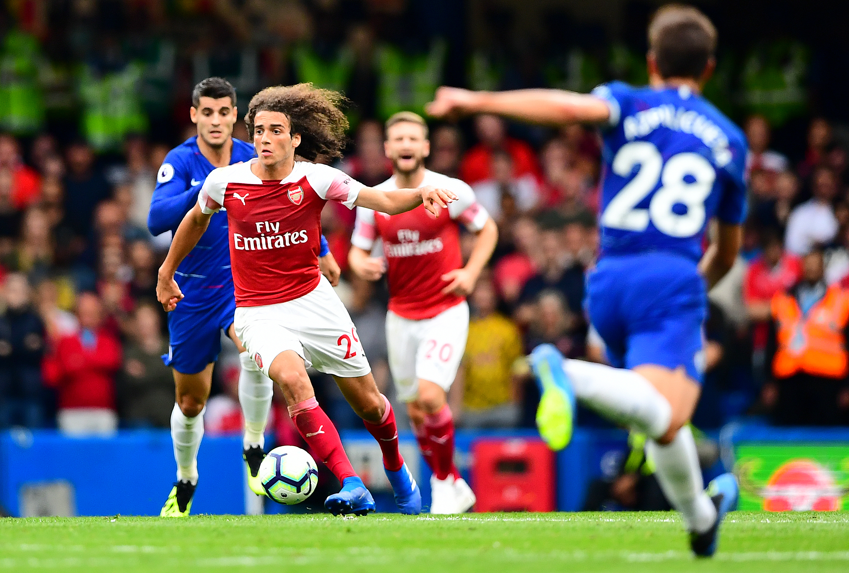 Guendouzi has impressed so far for Arsenal. Image: PA Images
