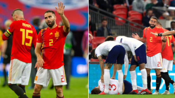 What Dani Carvajal Did After He Couldn't Find Luke Shaw In England's Dressing Room Is Class