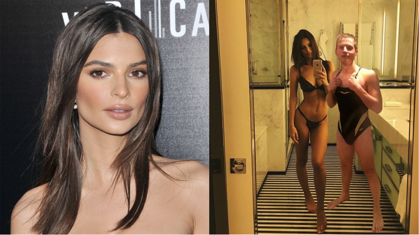​Russian Guy Photoshops Himself Into Emily Ratajkowski's Life