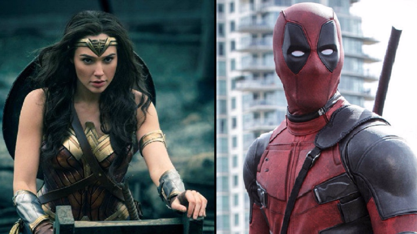 Ryan Reynolds Congratulates Wonder Woman For Beating Deadpool In Classic Fashion