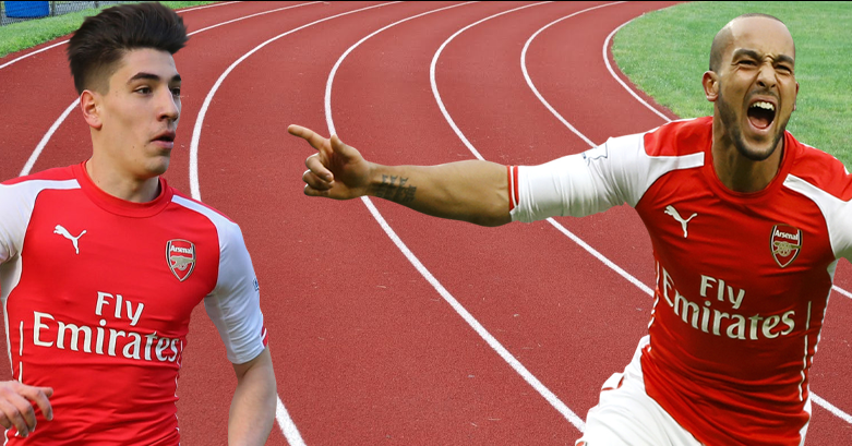 Revealed The Fastest Player Hector Bellerin Or Theo