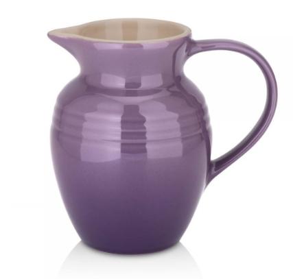 Stoneware jug - £23. Credit: Le Creuset