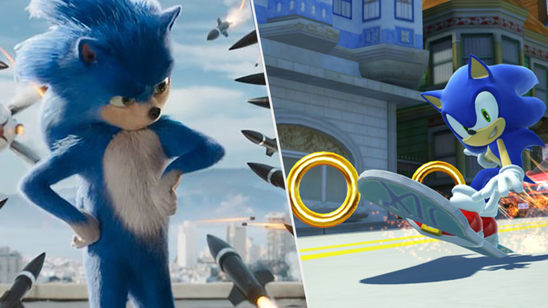Sonic The Hedgehog Movie Redesign Reportedly Spotted In Cinema Ladbible