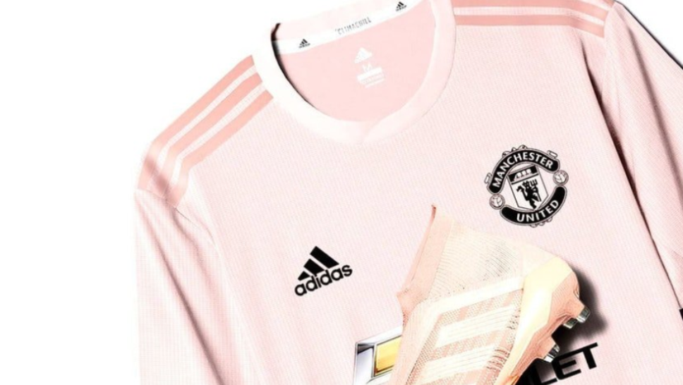 The New Pink Manchester United Away Kit To Be Released Tomorrow Sportbible