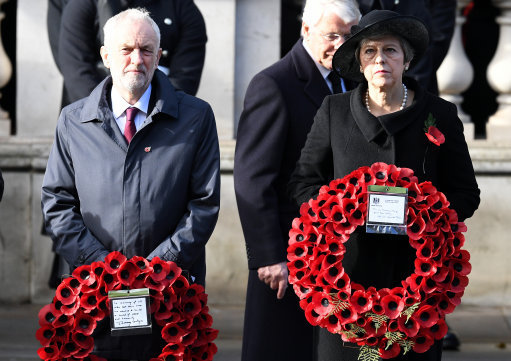 Millions paid tribute to fallen military servicemen and women on Remembrance Sunday. Credit: PA
